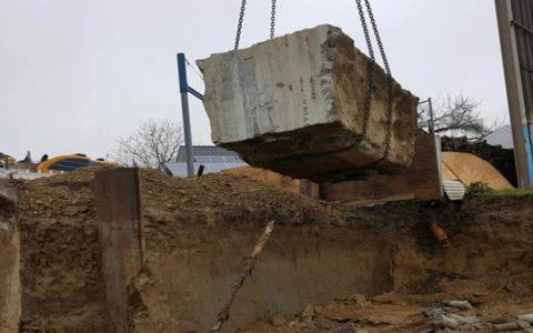 Abriss / Abbruch einer Autobahn-Brücke inkl. Beton zerkleinern (© Oroslan Kernbohrungen, BBS Technik GmbH)
