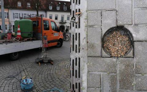 Kernbohren in öffentlichem Raum (© Oroslan Kernbohrungen, BBS Technik GmbH)(© Oroslan Kernbohrungen, BBS Technik GmbH)